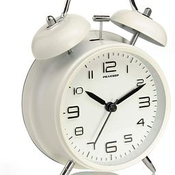 Peakeep 4 inches Twin Bell Alarm Clock with Stereoscopic Dial, Backlight, Battery Operated Loud A... | Amazon (US)