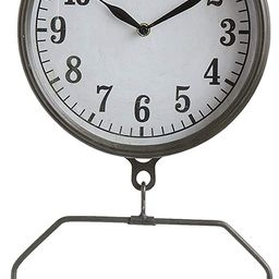 Creative Co-Op White Decorative Reproduction Scale Wall Clock | Amazon (US)