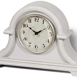 PresenTime & Co Vintage Farmhouse Table Clock Series Napoleon Mantel Clock,13 x 10 inch, Domed Le...   Amazon (US)
