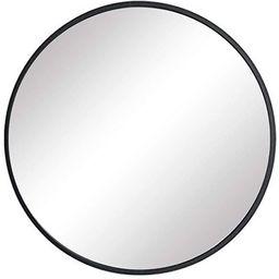 FANYUSHOW Nordic Round Mirror, Bathroom Mirror, Wall-Mounted Bathroom Mirror,15.7'' Modern Brushe...   Amazon (US)