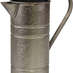 Stonebriar Antique Vintage Silver Metal Drinking Pitcher with Handle, Farmhouse Home Decor Accent...   Amazon (US)
