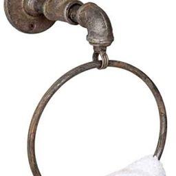 Industrial Water Spigot Towel Ring | Amazon (US)