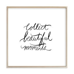 """""""collect beautiful moments"""" - Limited Edition Art Print by Vivian Yiwing. 