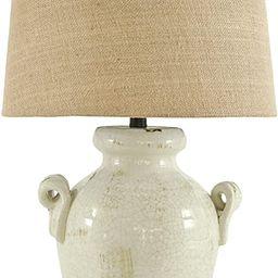 Signature Design by Ashley - Emelda Table Lamp - Vintage Casual - Cream | Amazon (US)