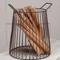 Colonial Tin Farmhouse Basket | Amazon (US)