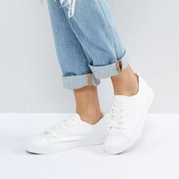 New Look lace up sneaker   ASOS US