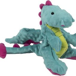 GoDog Dragons Chew Guard Dog Toy, Periwinkle, Large - Chewy.com   Chewy.com