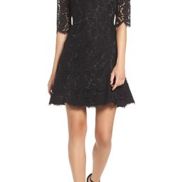 Lace Fit & Flare Cocktail Dress | Nordstrom