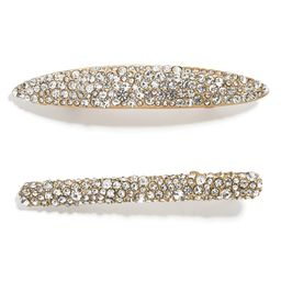 Steph 2-Pack Crystal Hair Clips | Nordstrom