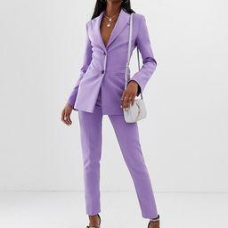 ASOS DESIGN Tall pop waisted suit blazer   ASOS US