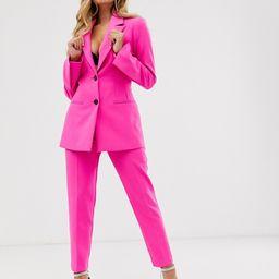 ASOS DESIGN pop waisted suit blazer   ASOS US