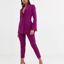 ASOS DESIGN pop suit blazer in purple   ASOS US