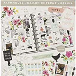 me & my BIG ideas Sticker Value Pack - The Happy Planner Scrapbooking Supplies - Farmhouse Theme ...   Amazon (US)