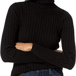 Women's Amy Fitted Turtleneck Ribbed Sweater   Amazon (US)