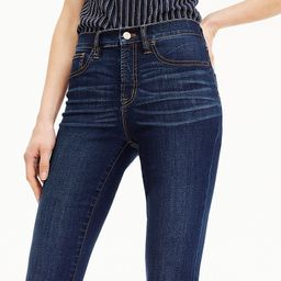 """9"""" high-rise toothpick TENCEL™ jean in Point Lake wash   J.Crew US"""