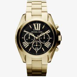 Oversized Bradshaw Gold-Tone Watch   Michael Kors (UK)