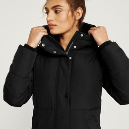 Ultra Long Puffer   Abercrombie & Fitch US & UK