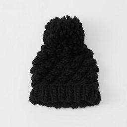 Chunky Knit Beanie   Abercrombie & Fitch US & UK