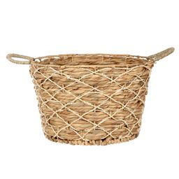 Better Homes & Gardens Round Natural Palm Basket   Walmart (US)