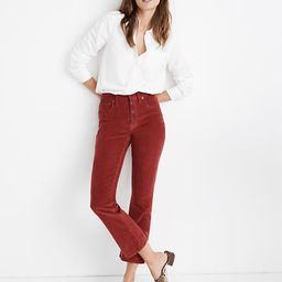 Cali Demi-Boot Jeans in Corduroy: Button-Front Edition | Madewell