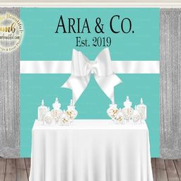 DIGITAL FILE Bride and CO, Bridal Shower, Baby and Co, Store Backdrop, Candy Table Backdrop, Phot...   Etsy (US)
