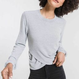 The Soft Spun Ruched Long Sleeve Top | Z Supply