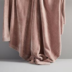 Luxe Chenille Throws | West Elm (US)