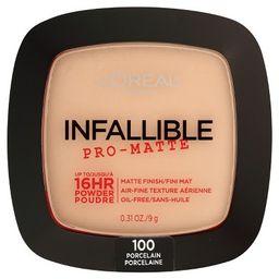 L'Oreal Paris Infallible Pro-Matte Powder | Target
