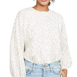 Rebecca Minkoff Women's Leopard Rosie Sweatshirt   Amazon (US)