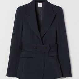 Taillierter Blazer aus Wollmix | H&M (DE, AT, DK,  HU, NL, NO, FI, PO, SE)