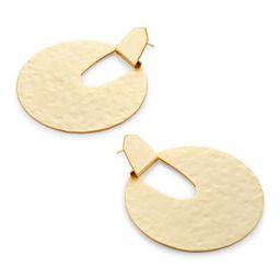 Diane Statement Earrings in Gold   Kendra Scott