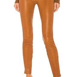 L8001 Leather Mid Rise Skinny Pant                                          J Brand   Revolve Clothing (Global)