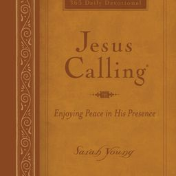 Jesus Calling(r): Jesus Calling (Large Print Leathersoft): Enjoying Peace in His Presence (with F... | Walmart (US)