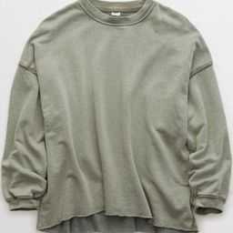Aerie Sunday Soft Oversized Sweatshirt | American Eagle Outfitters (US & CA)