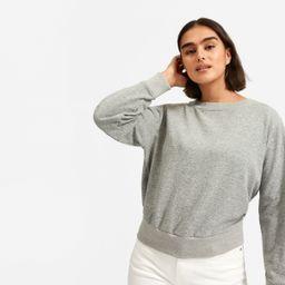 The Lightweight French Terry Pleat Sweatshirt | Everlane