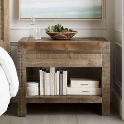 Hensley Reclaimed Wood Nightstand | Pottery Barn (US)