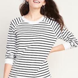 Boyfriend French Terry Tunic Sweatshirt for Women | Old Navy | Old Navy (US)