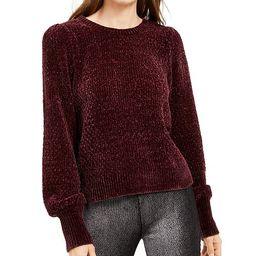 Chenille Balloon-Sleeve Sweater, Regular & Petite Sizes, Created for Macy's | Macys (US)