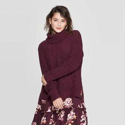 Women's Chenille Cowl Neck Pullover Sweater - Xhilaration™ | Target