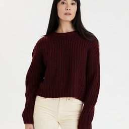 AE Cozy Crew Neck Sweater | American Eagle Outfitters (US & CA)