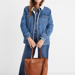 The Shoulder Bag Strap: Braided Leather Edition   Madewell