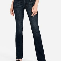 mid rise barely boot jeans | Express