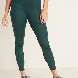High-Waisted 7/8-Length Run Leggings For Women | Old Navy (US)