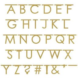 Gold Faux Glitter Create Your Own Banner - Spritz™ | Target