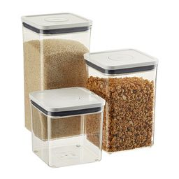 OXO Good Grips POP Square Canisters   The Container Store