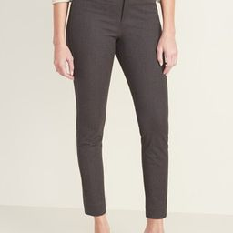 Mid-Rise Pixie Straight-Leg Pants for Women | Old Navy (US)