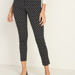 Mid-Rise Pixie Ankle Pants for Women | Old Navy (US)