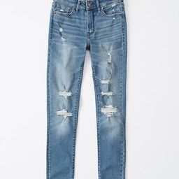 Mid Rise Super Skinny Jeans | Abercrombie & Fitch US & UK