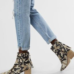 Camo Ankle Boot | Buckle