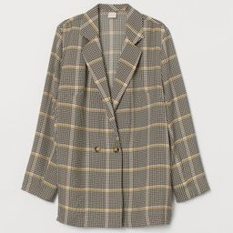 Double-breasted Jacket   H&M (US)